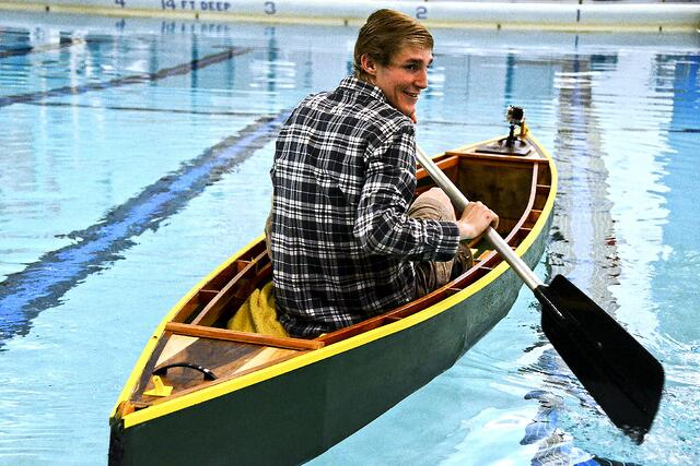 Maker Movement at Elizabeth Forward: Canoe built in FABLAB