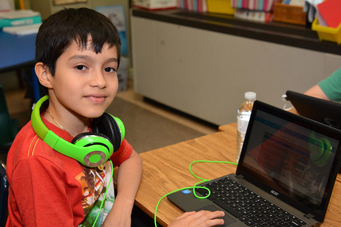 "Google for Education Selects Frontier for ""Media Literacy Apps on Chromebooks"" Program"