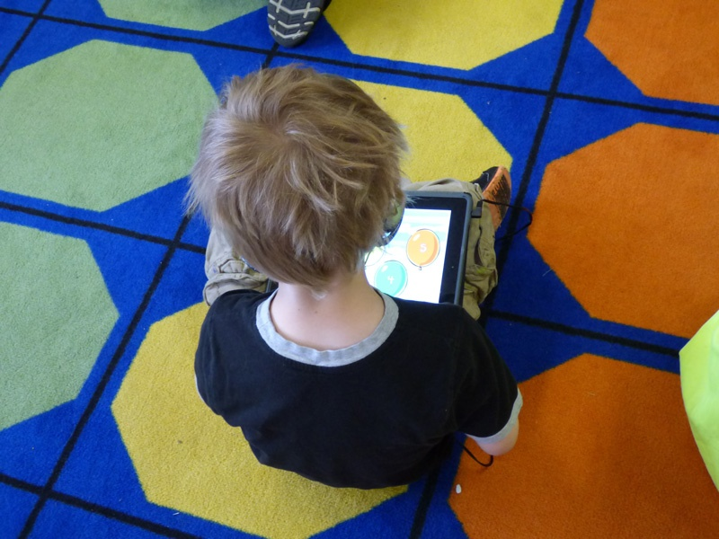 early education iPads in action